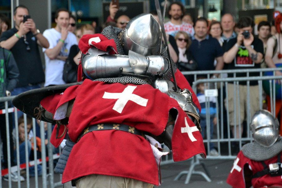 Battle of The Nations – Team Helvetica. Team Helvetica fighting full contact medieval fights according to the rules and regulations of Buhurt.